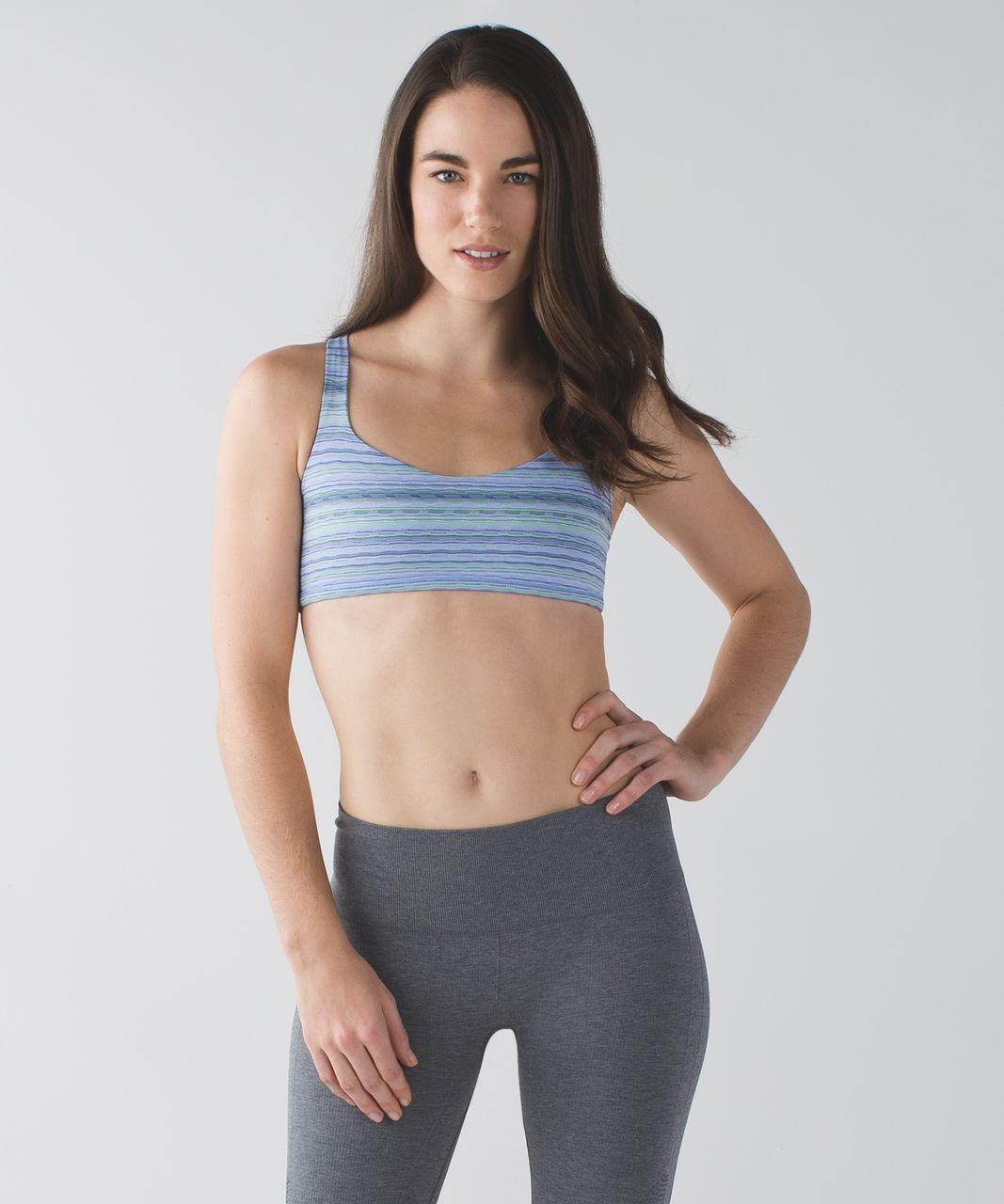 Lululemon Free To Be Bra *Wild - Space Dye Twist Lullaby Ray / Lullaby / Ray