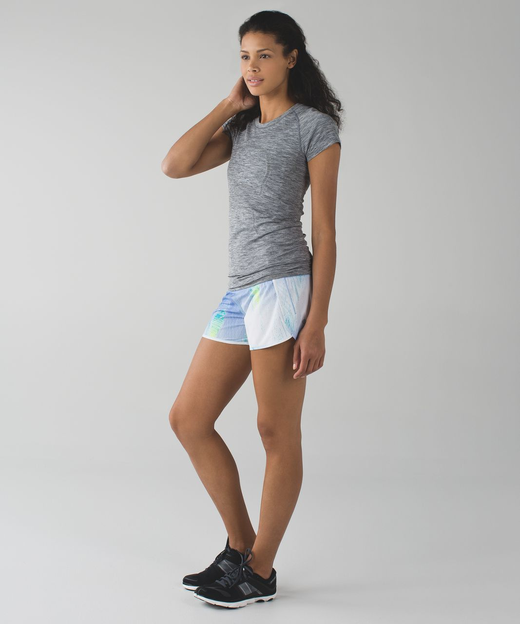 Lululemon Run Times Short *4-way Stretch - Wind Chill White Lullaby / Lullaby
