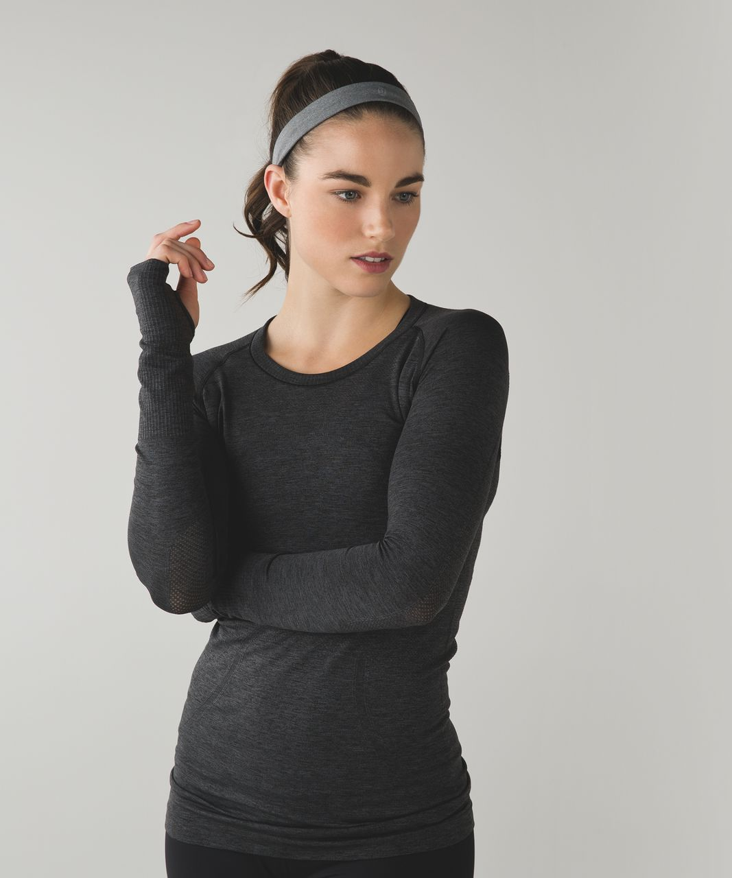Lululemon Cardio Cross Trainer Headband - Heathered Slate