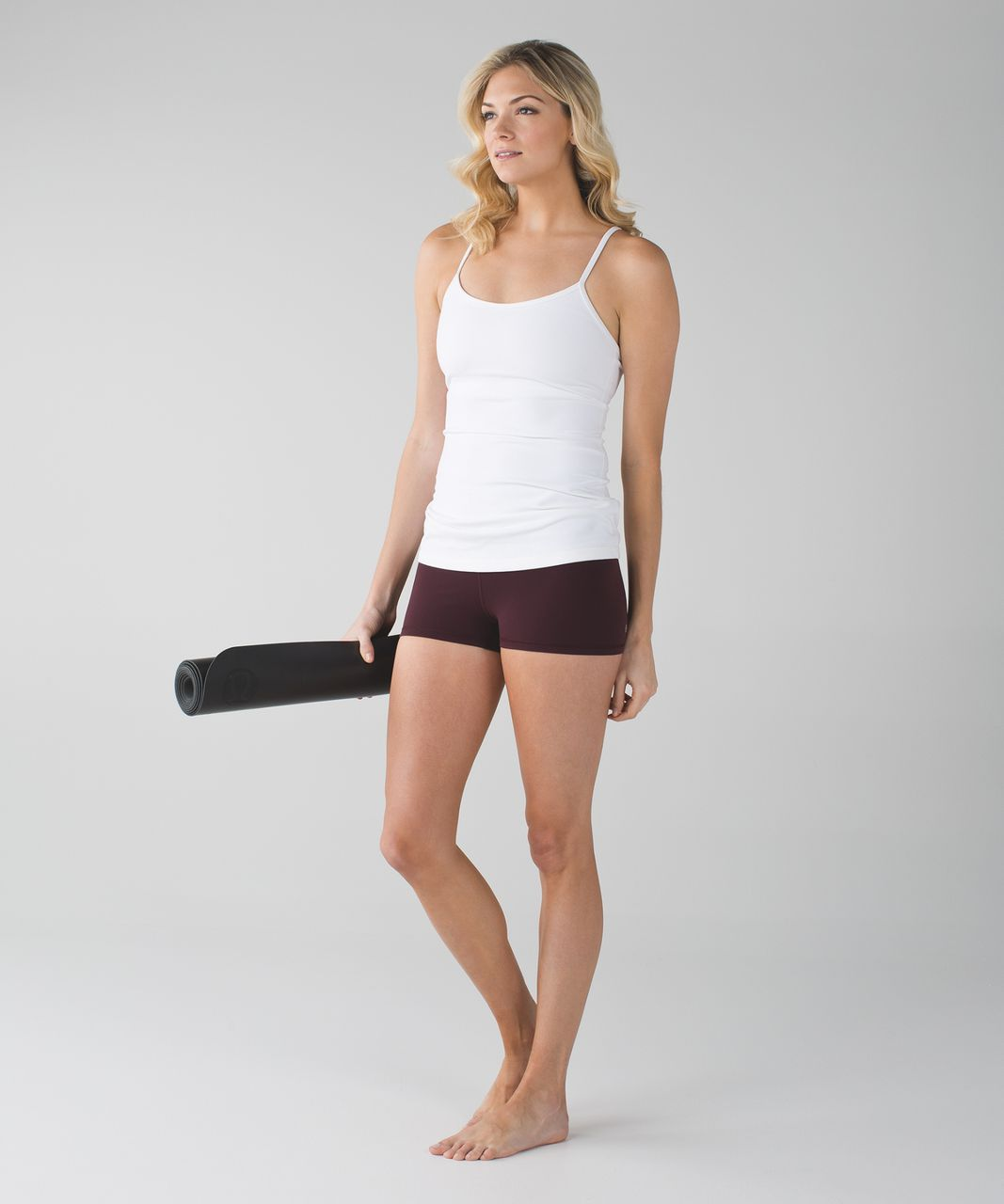 Lululemon Boogie Short (Roll Down) *Full-On Luon - Bordeaux Drama / Pigment Wind Berry Rumble Bordeaux Drama