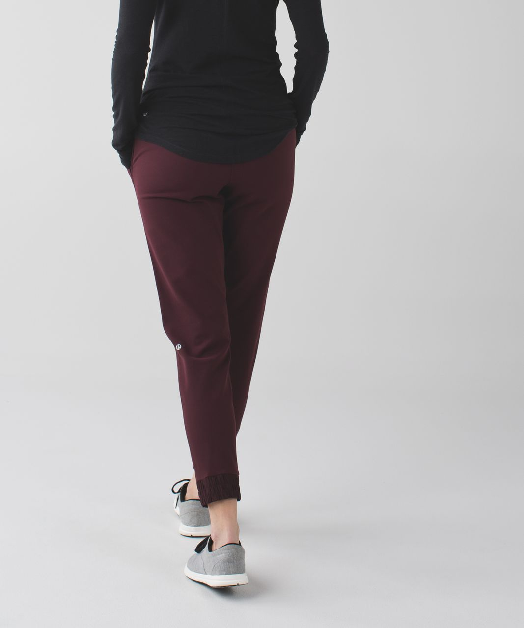 Lululemon Post Barre Pant - Bordeaux Drama