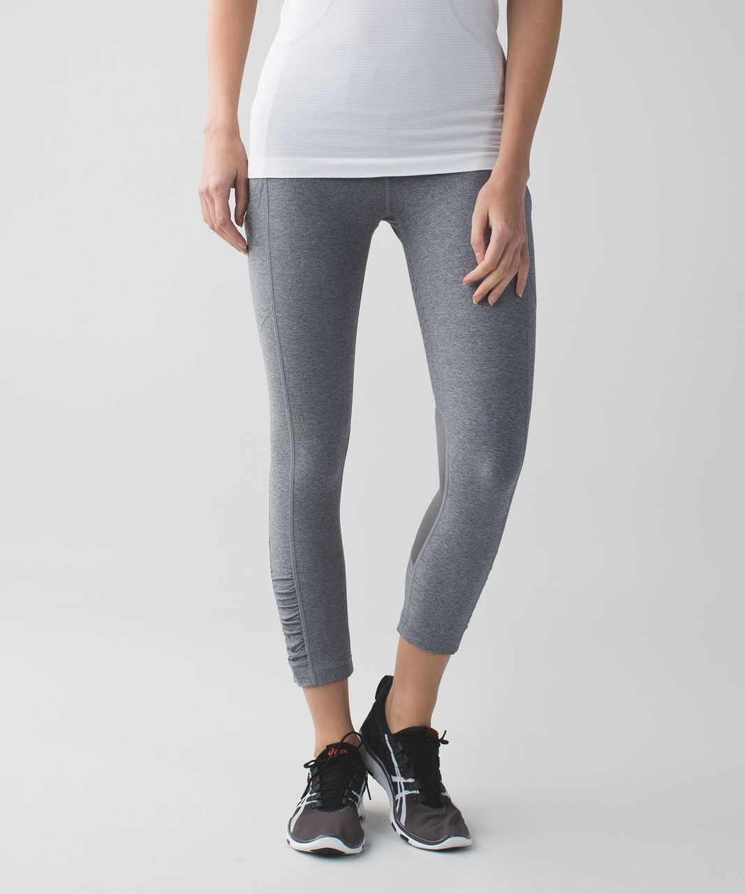 Lululemon Speed Crop - Heathered Slate