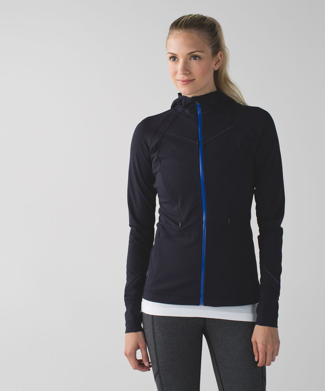 Lululemon Rain-On Train-On Jacket - Naval Blue