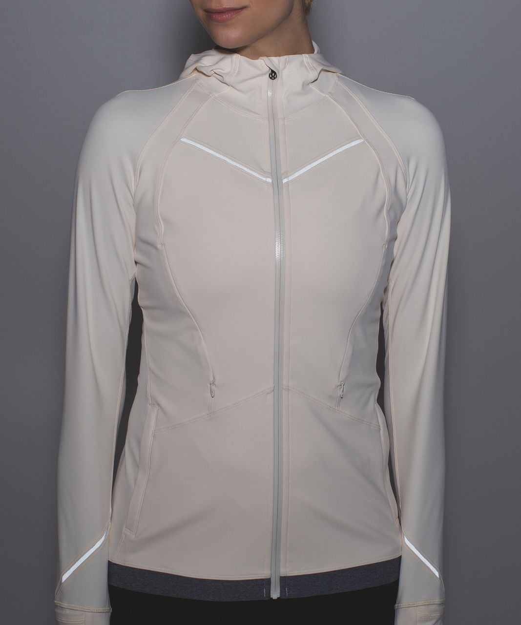Lululemon Rain-On Train-On Jacket - Angel Wing