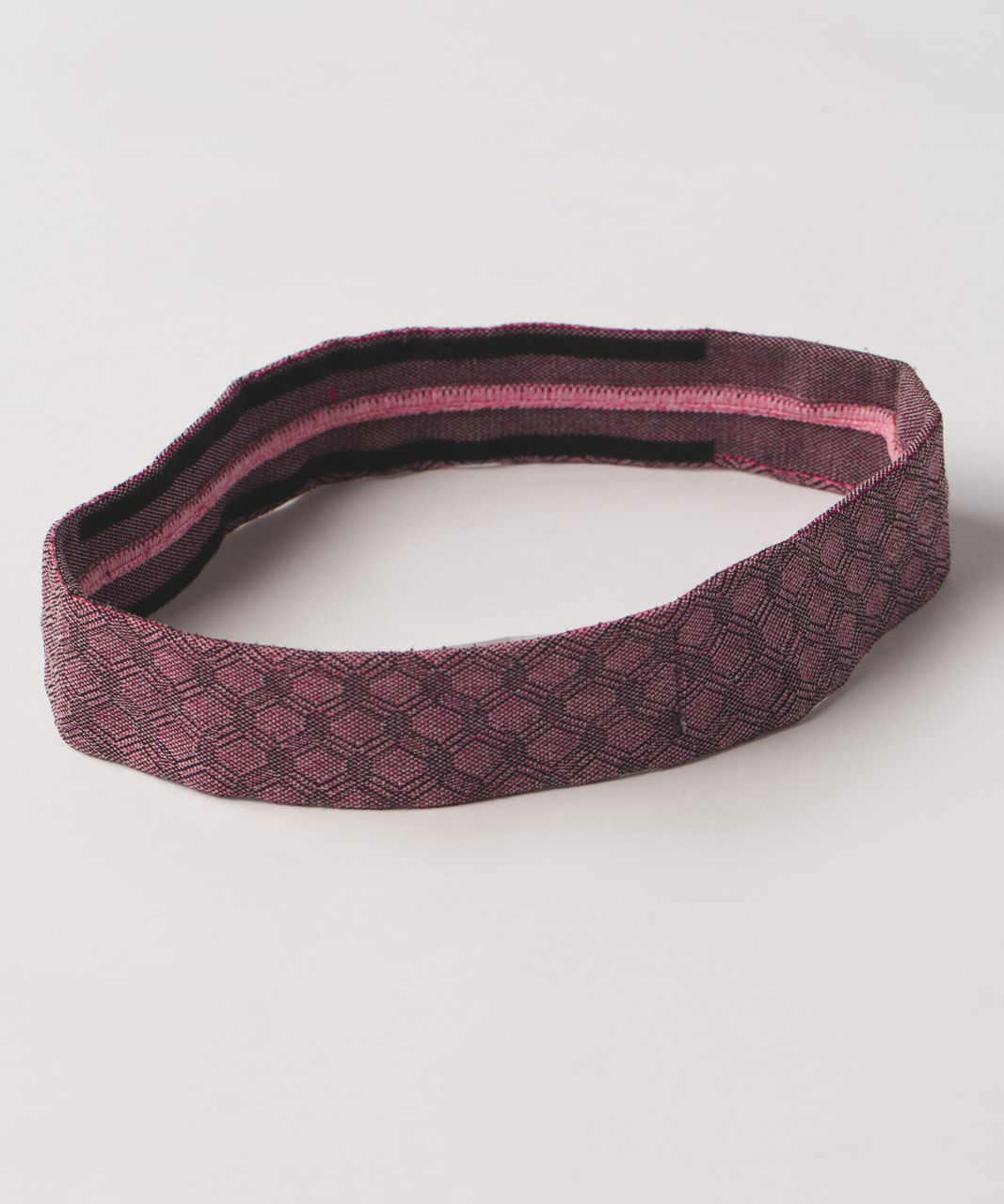 Lululemon Cardio Cross Trainer Headband - Heathered Jewelled Magenta (Print)