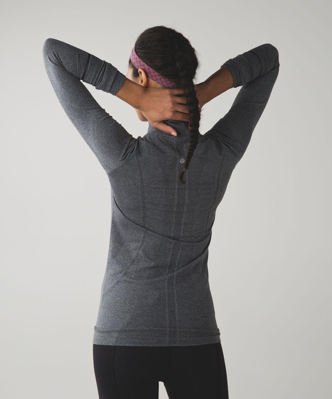 Lululemon Cardio Cross Trainer Headband - Heathered Jewelled Magenta (Print)