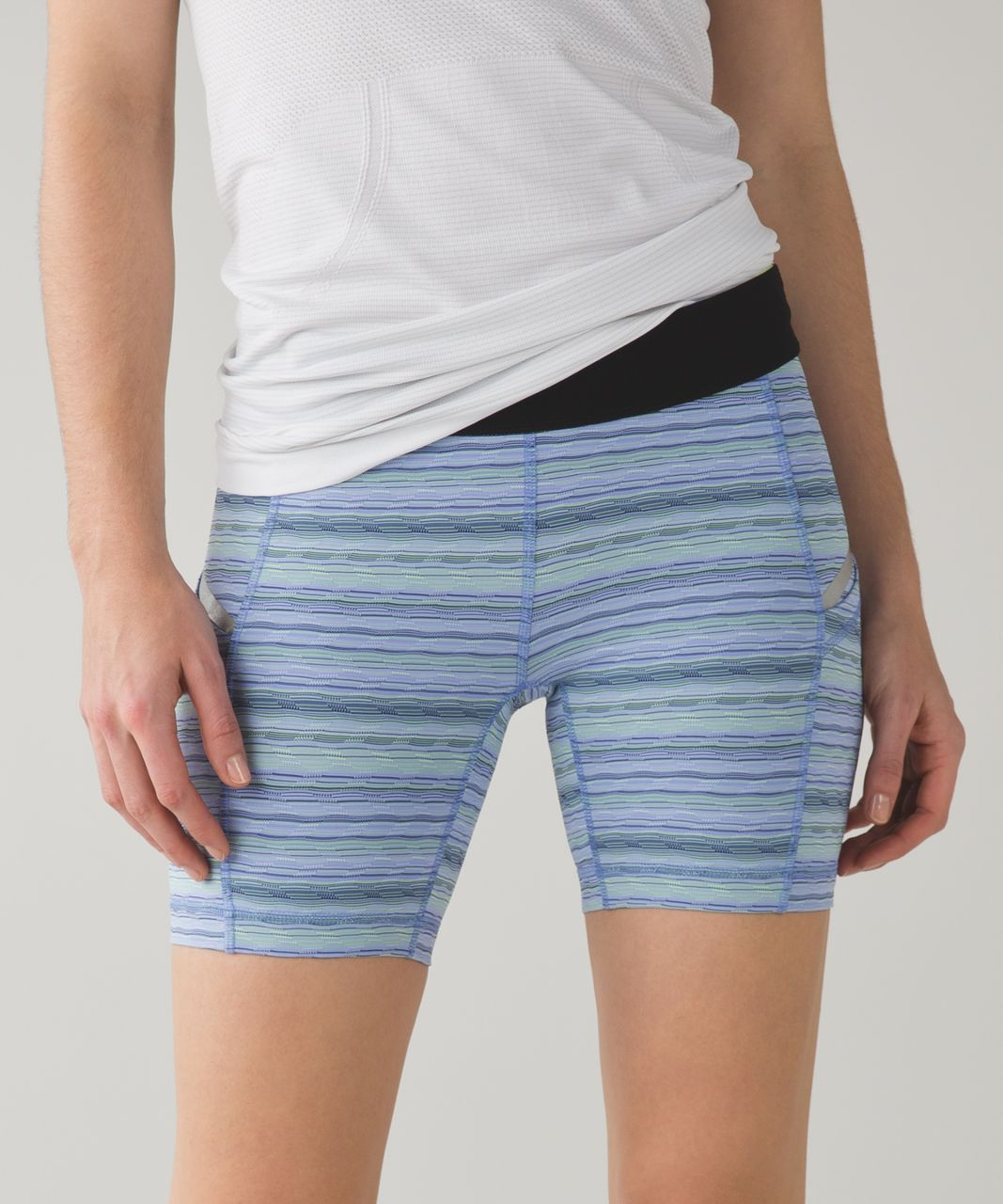 Lululemon What The Sport Short II - Space Dye Twist Lullaby Ray