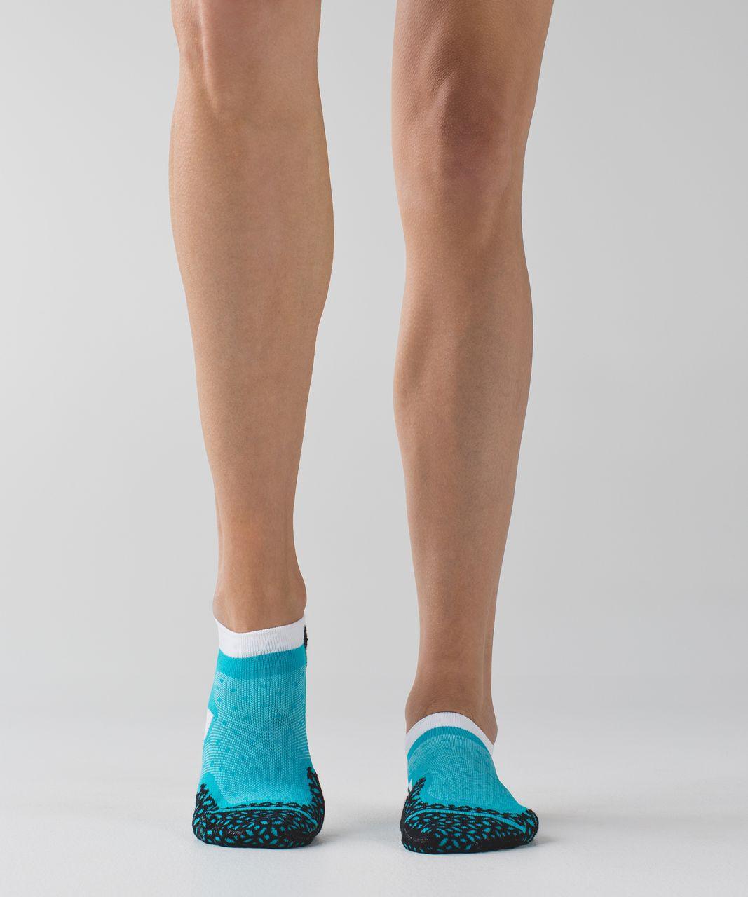 Lululemon Speed Sock - Peacock Blue / Naval Blue