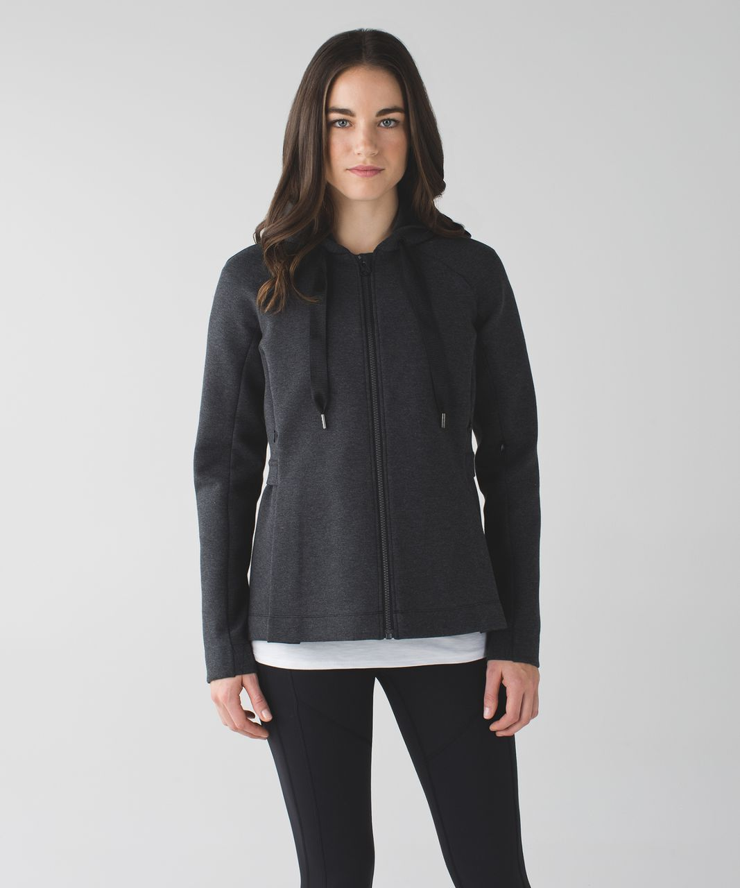 Lululemon &go Skyline Jacket - Heathered Black / Black