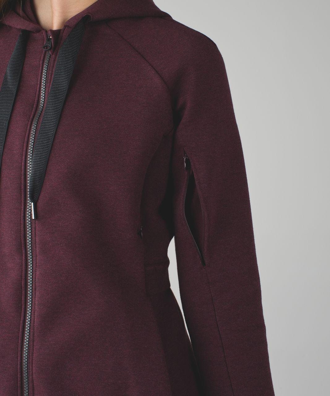 Lululemon &go Skyline Jacket - Heathered Bordeaux Drama / Bordeaux Drama