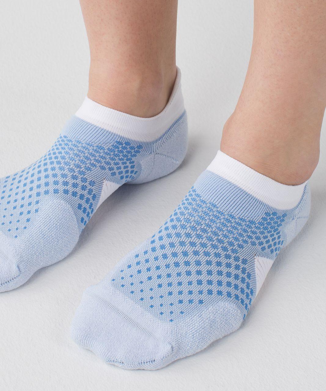 Lululemon High Speed Sock - Chalk / Porcelaine