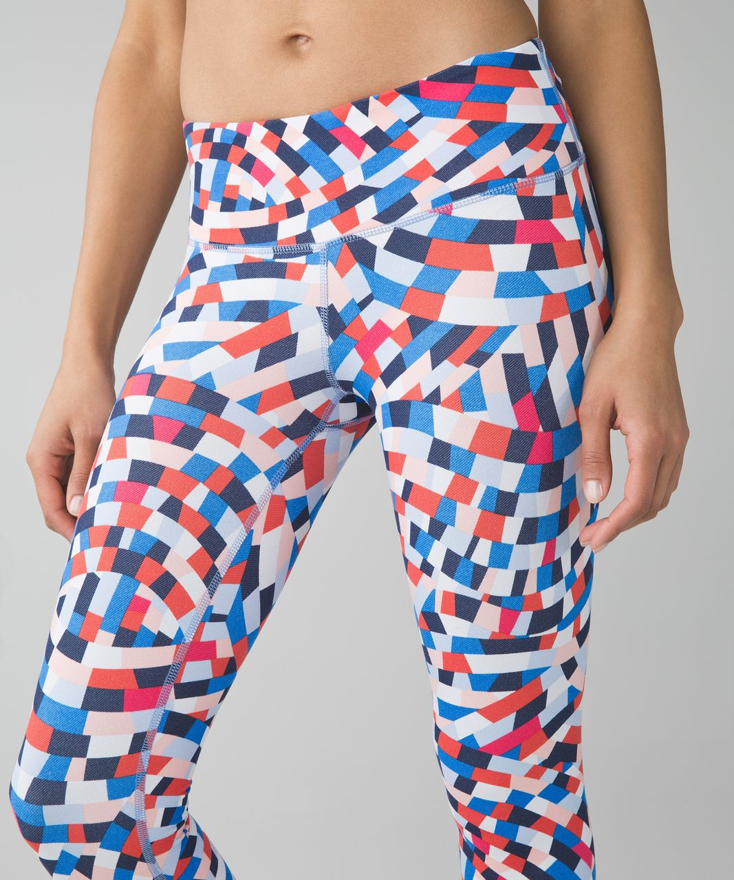 Lululemon Wunder Under Crop III - Capoeira Multi