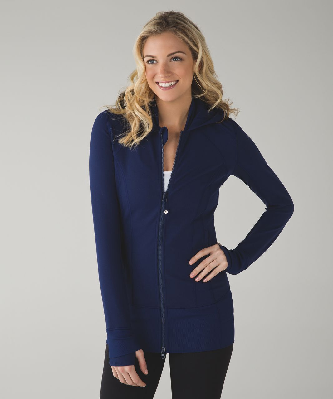 Lululemon Daily Practice Jacket - Hero Blue