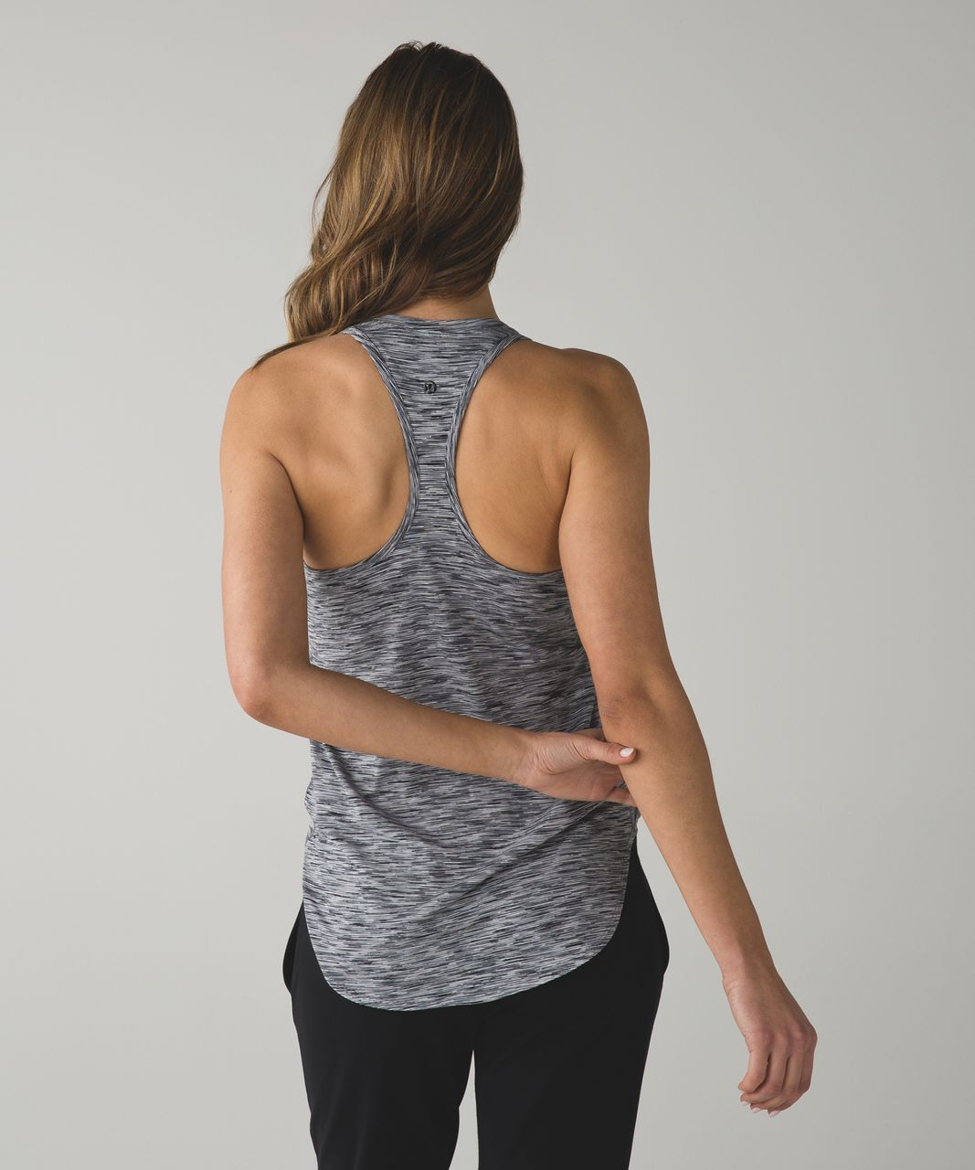 Lululemon Yogi Racer Back III - 4 Color Space Dye White Black