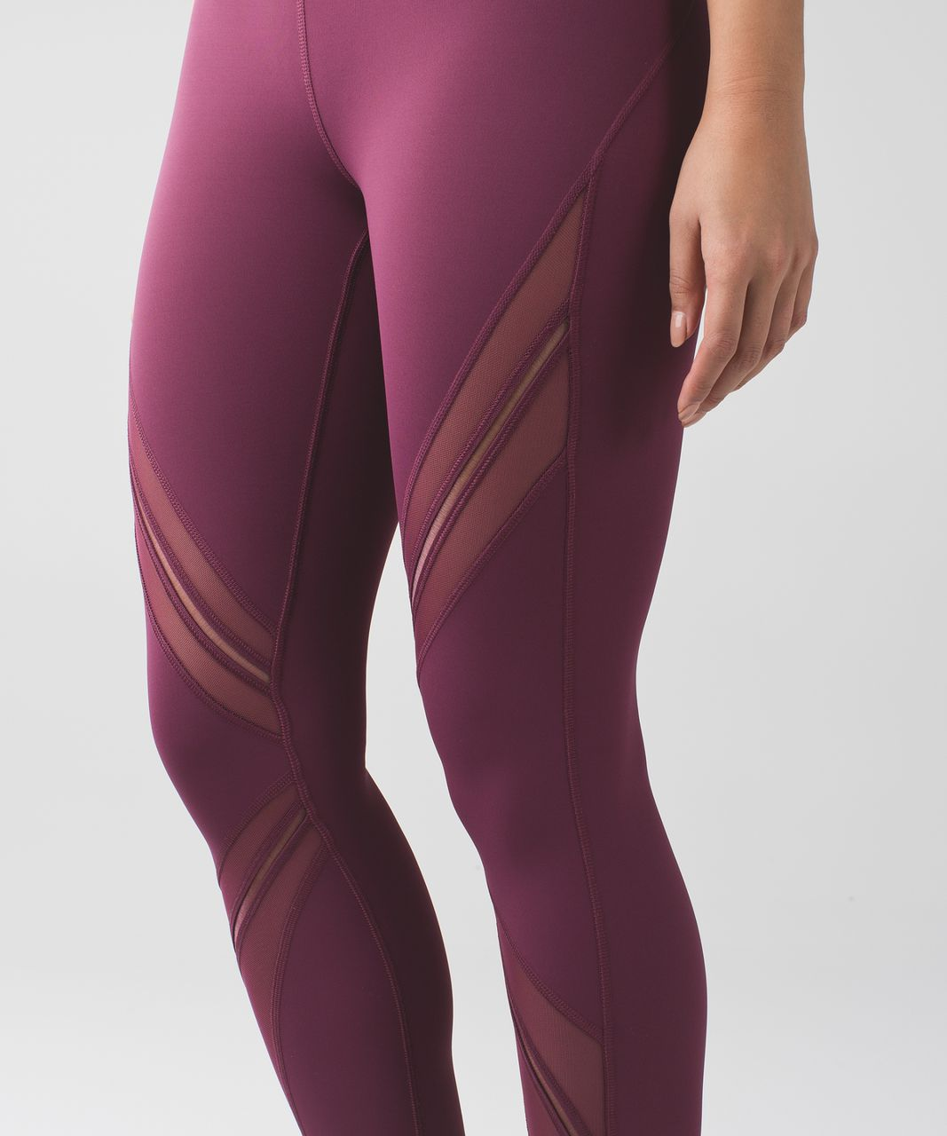 Lululemon High Times Pant *Metta - Red Grape