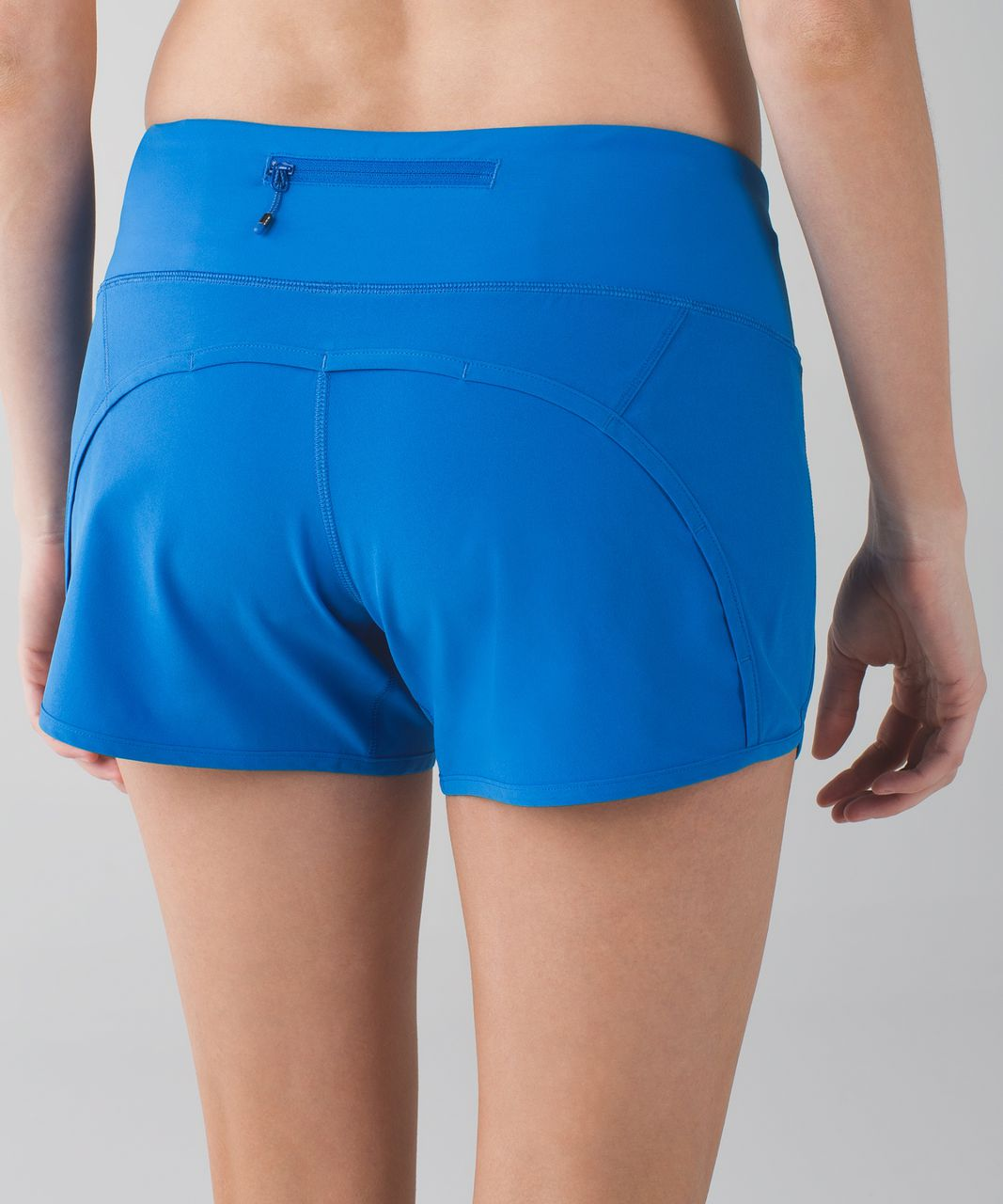 "Lululemon Run Times Short *4-way Stretch 4"" - Lakeside Blue"