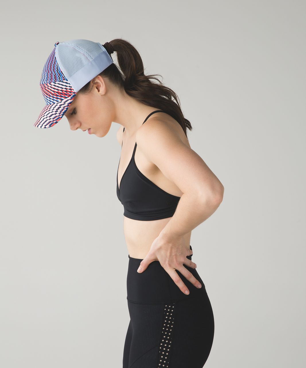 Lululemon Dash and Splash Cap - Chalk / Shifted Horizon Multi