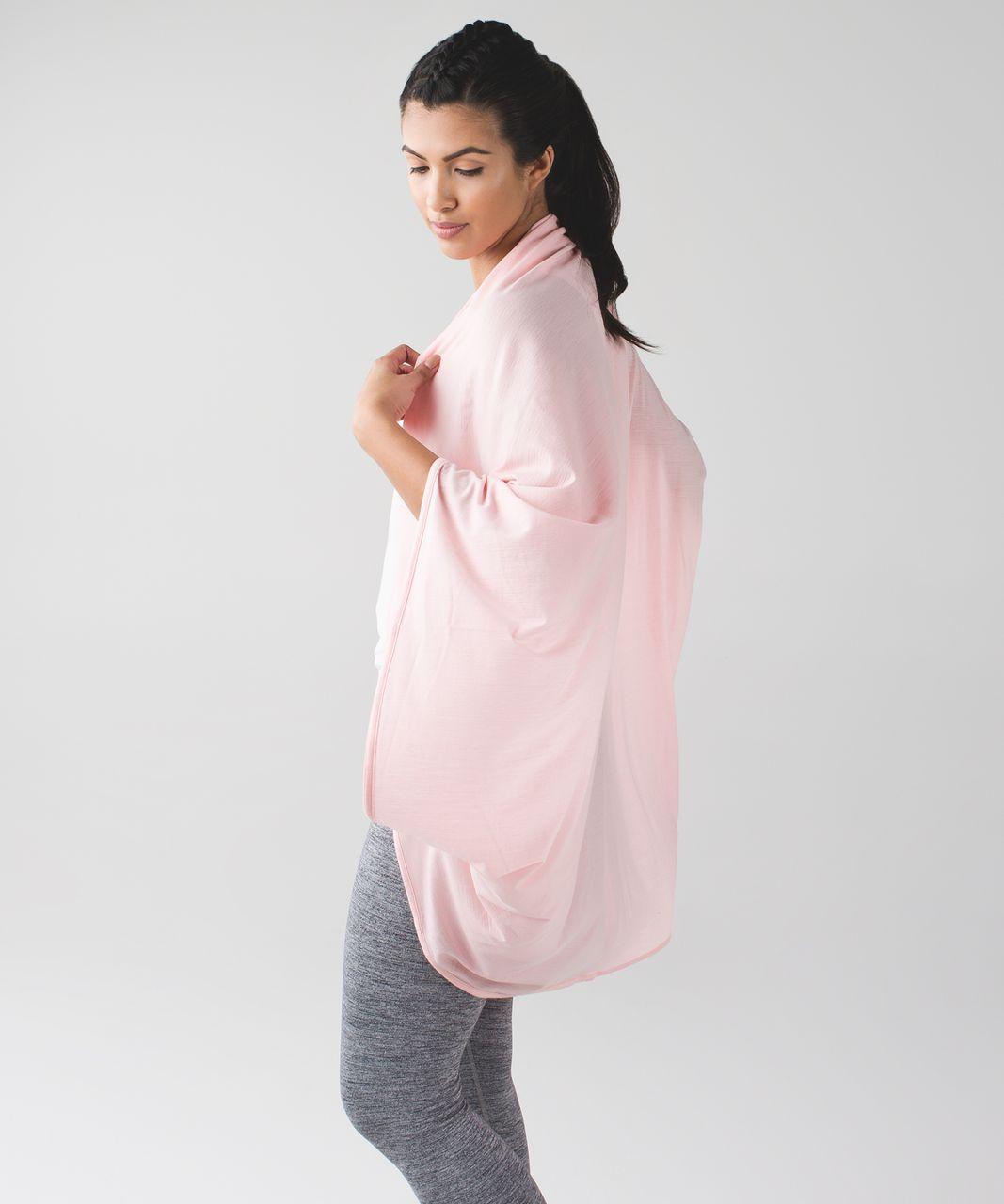 Lululemon Sage Scarf *Wool - Minty Pink
