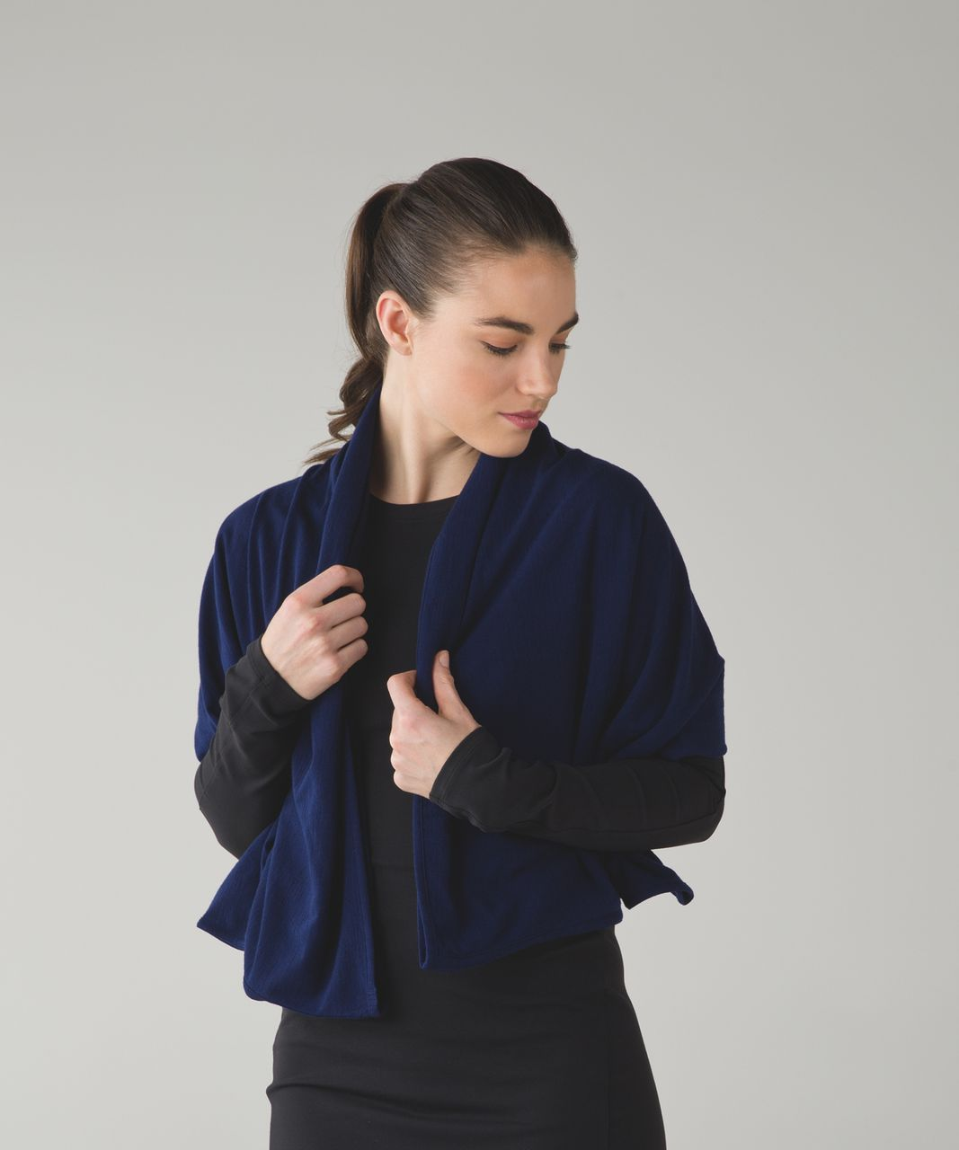 Lululemon Sage Scarf *Wool - Hero Blue