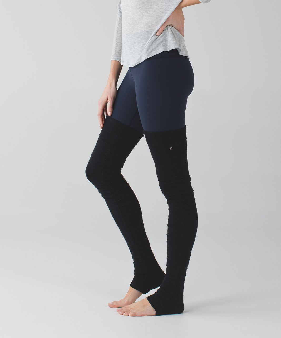 Lululemon Sheer Bliss Leg Warmer - Black
