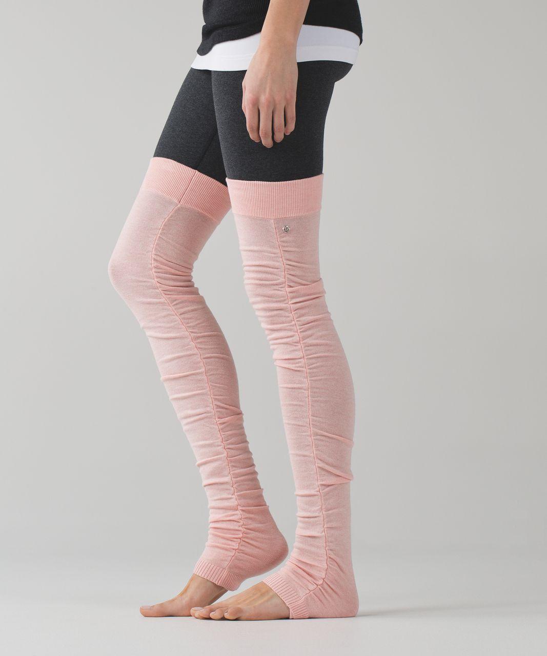 Lululemon Sheer Bliss Leg Warmer - Heathered Minty Pink