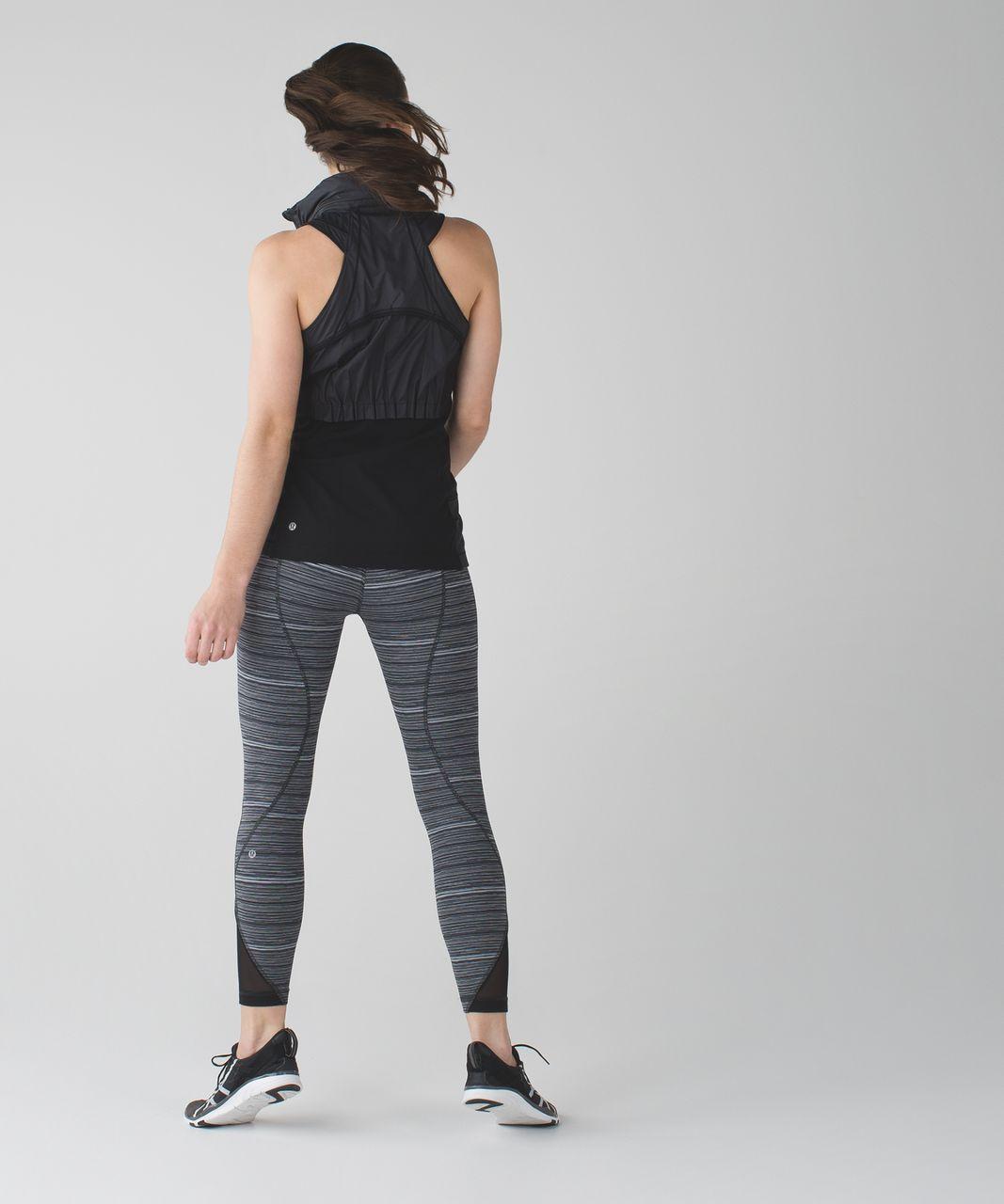 Lululemon 5 Mile Vest - Black / Heathered Black