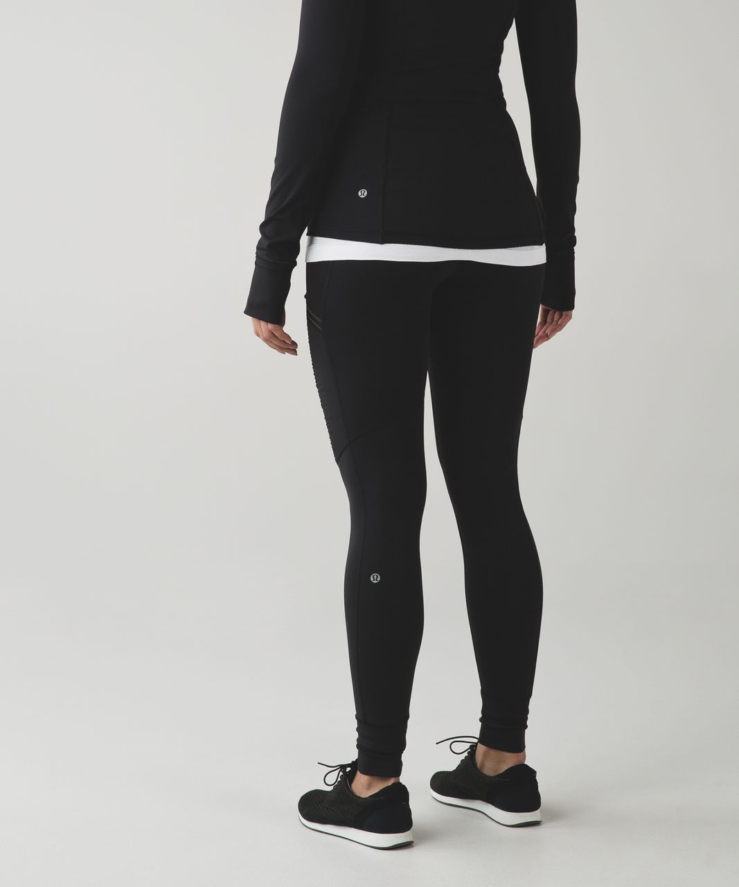 Lululemon Train In The Rain Tight - Black
