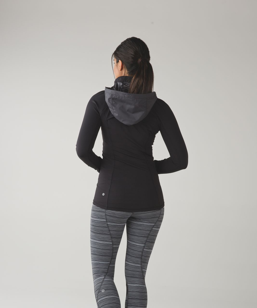 Lululemon Rain-On Train-On Pullover - Black