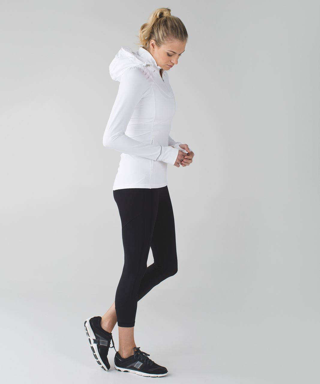 Lululemon Rain-On Train-On Pullover - White