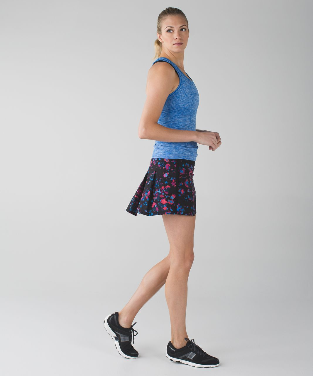 Lululemon Pace Rival Skirt II (Tall) *4-way Stretch - Dandy Digie Multi / Black