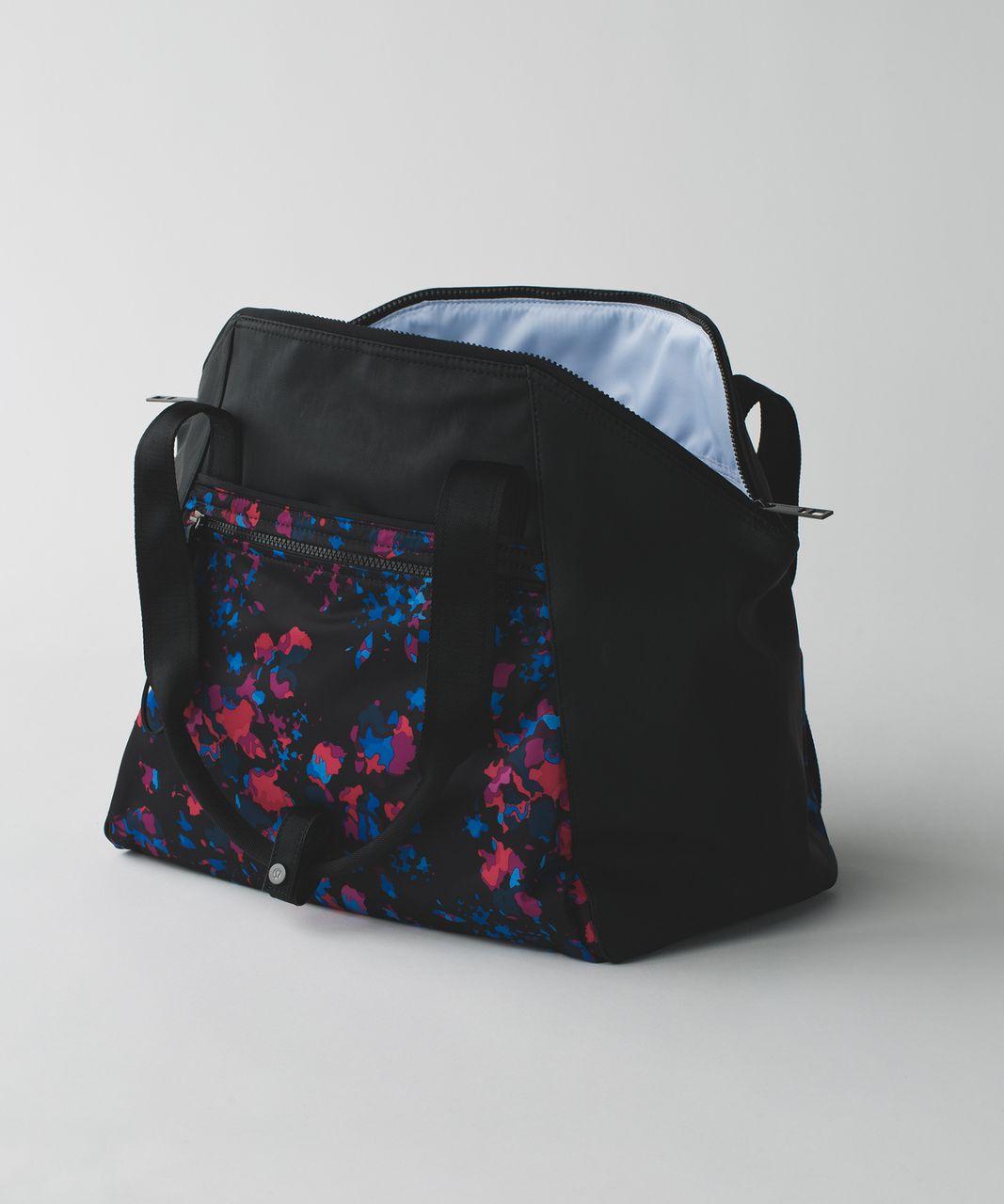 Lululemon Free to Be Bag - Dandy Digie Multi / Black