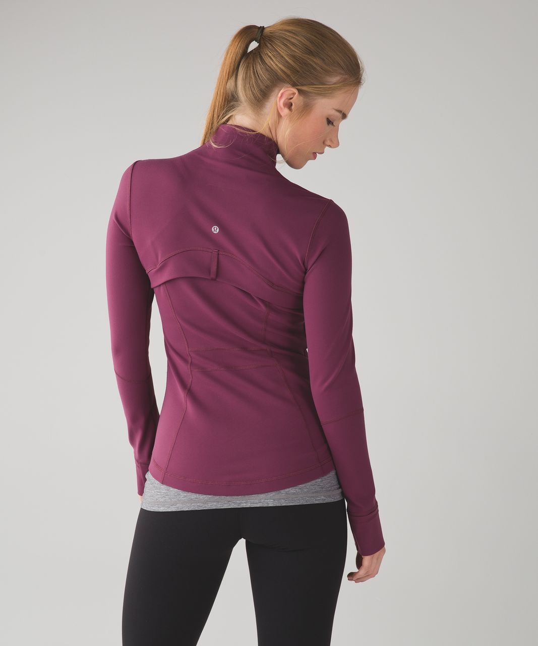 Lululemon Define Jacket - Red Grape