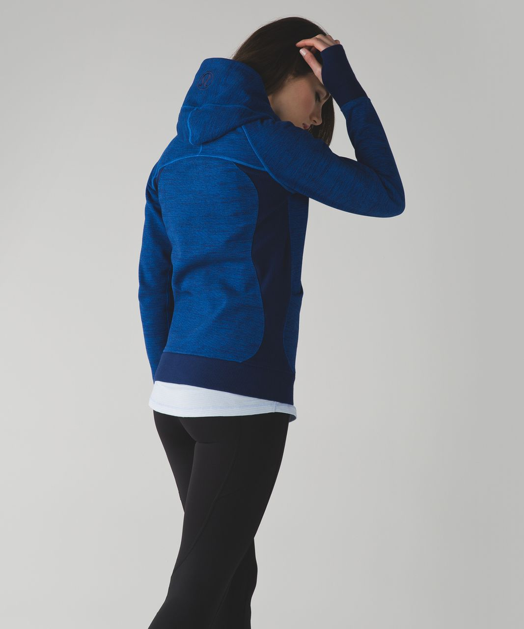 Lululemon Scuba Hoodie III - Commuter Denim Lakeside Blue Hero Blue / Hero Blue