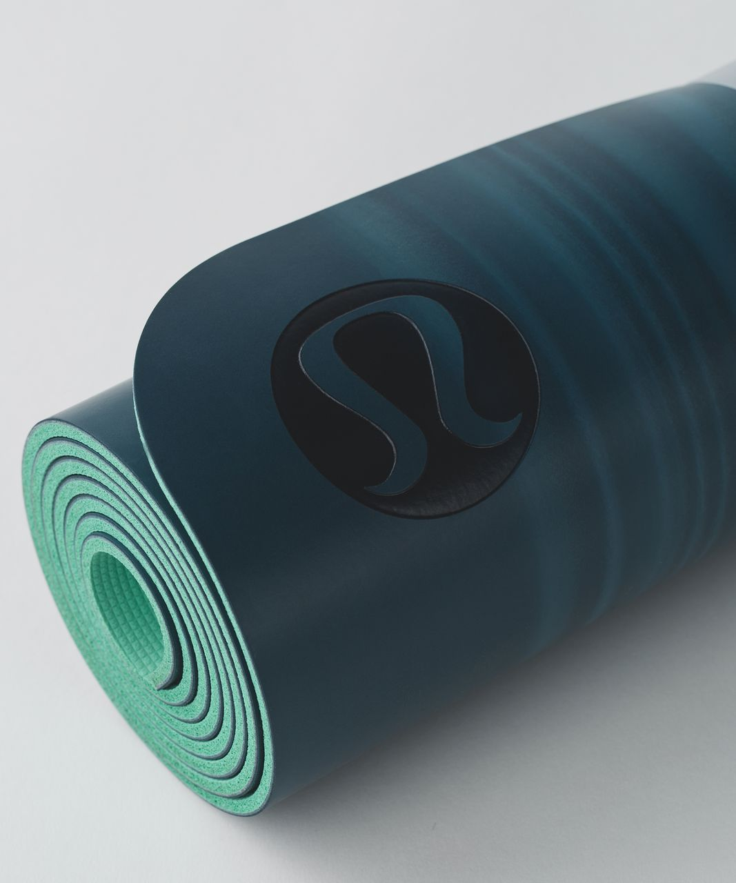 Lululemon The Reversible Mat 5mm - Alberta Lake / White / Menthol