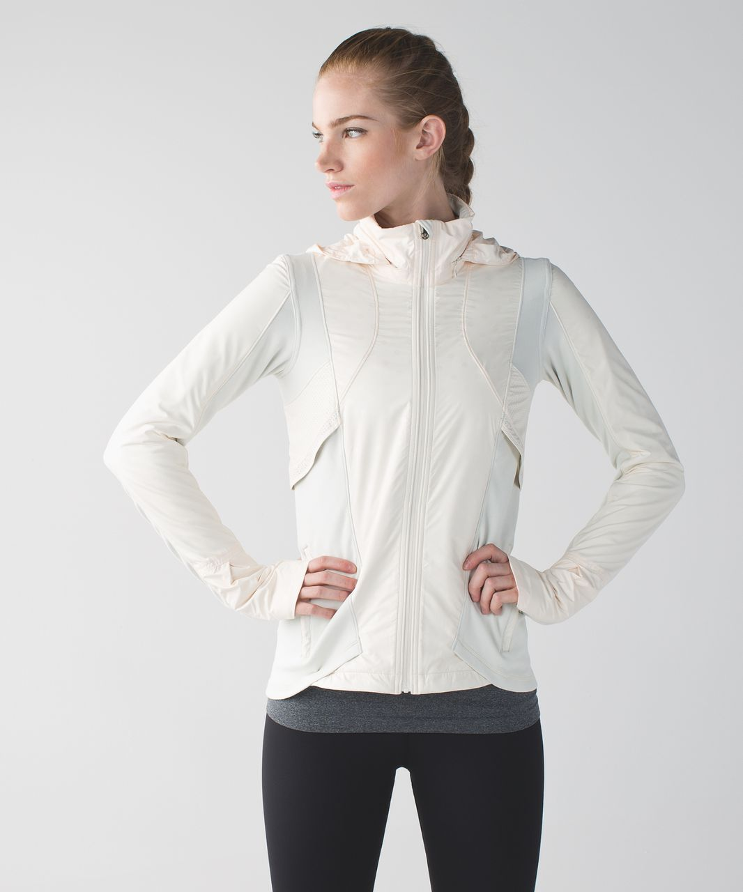 Lululemon Kanto Catch Me Run Jacket - Angel Wing / Ghost Dot Embossed Angel Wing