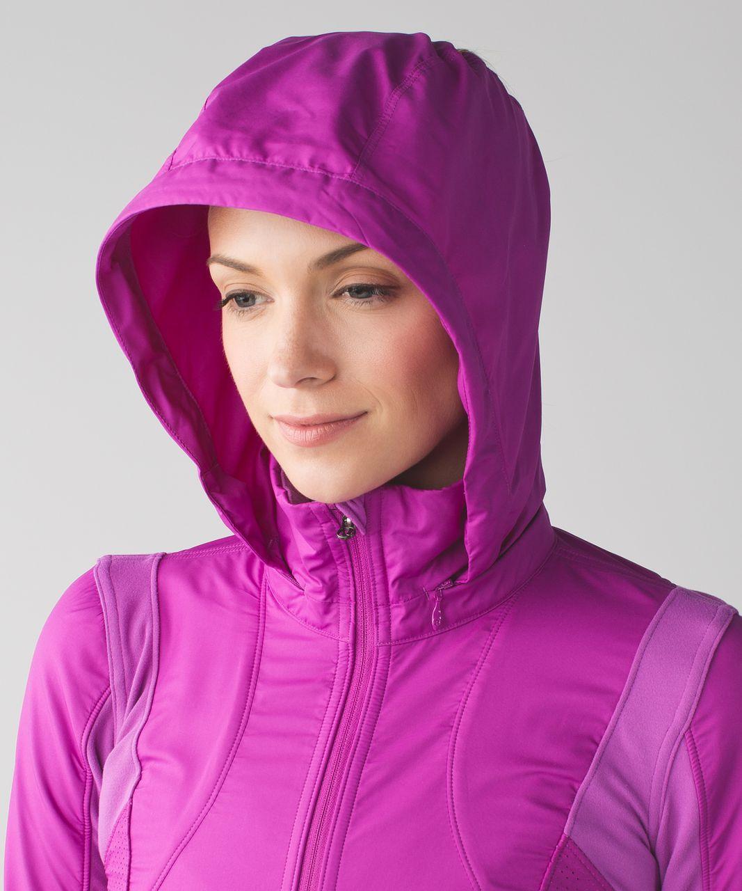 Lululemon Kanto Catch Me Run Jacket - Ultra Violet