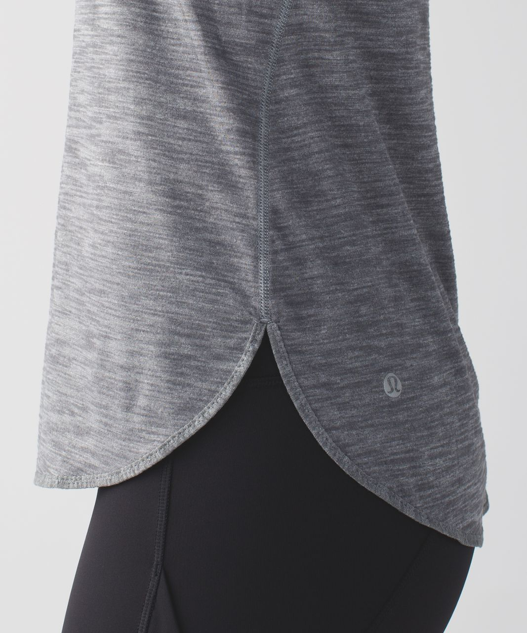 Lululemon What The Sport Singlet II - Heathered Slate
