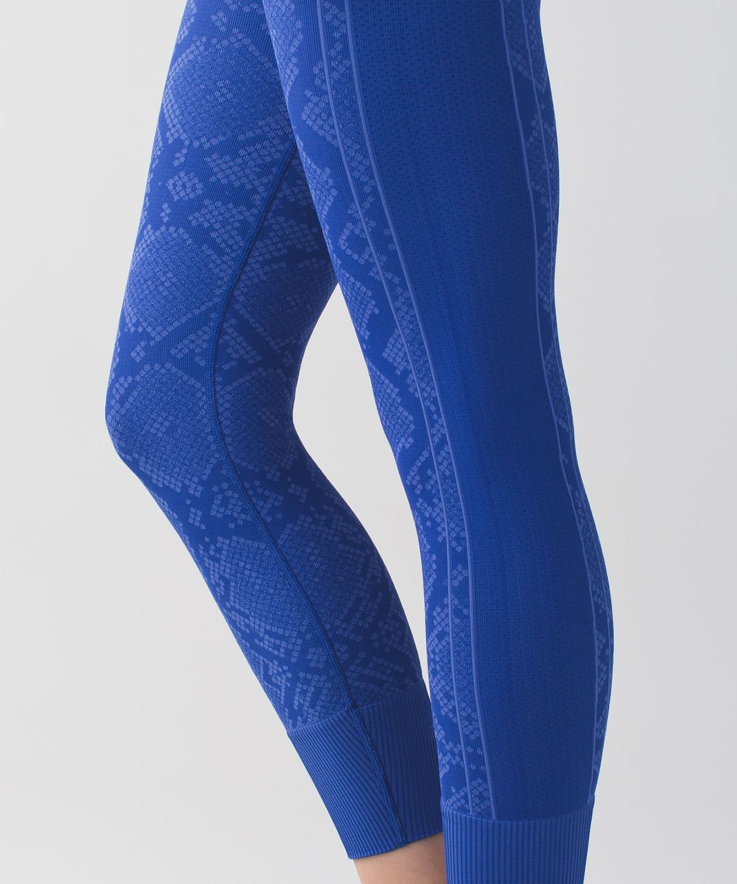 Lululemon Ebb To Street Pant - Heathered Sapphire Blue