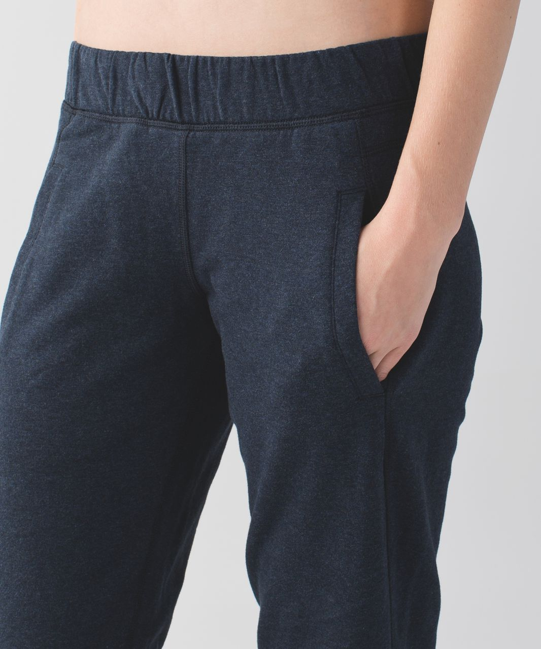 Lululemon Sattva Pant II - Heathered Naval Blue