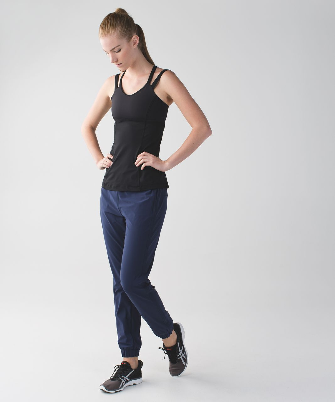 Lululemon Track To Reality Pant III - Deep Navy / Black