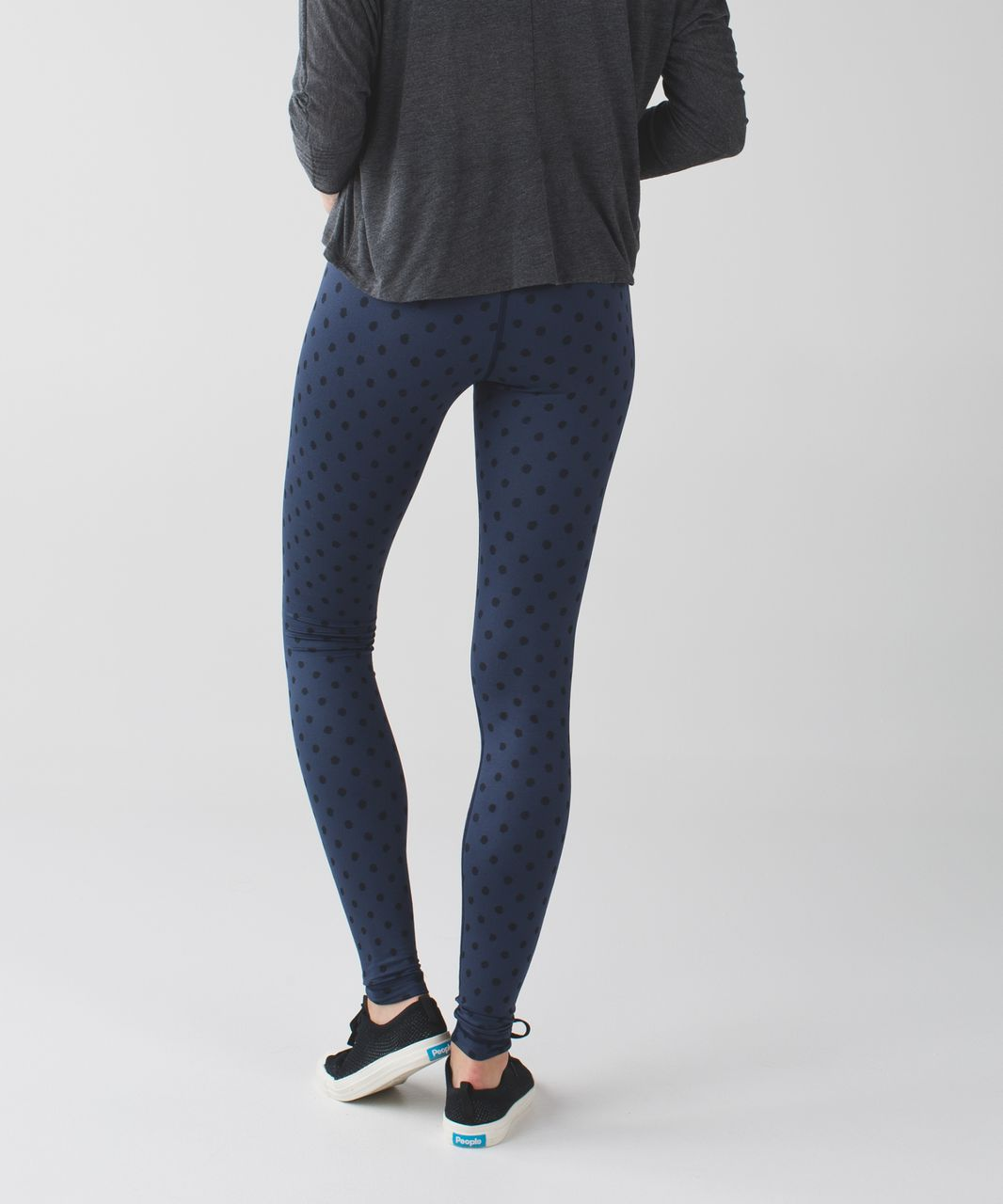 Lululemon Wunder Under Pant (Hi-Rise) *Full-On Luon - Ghost Dot Deep Navy Black