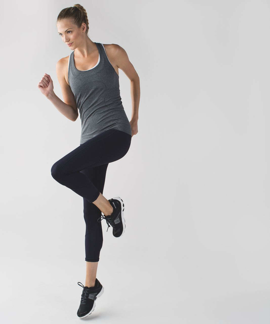 Lululemon All The Right Places Crop - Naval Blue