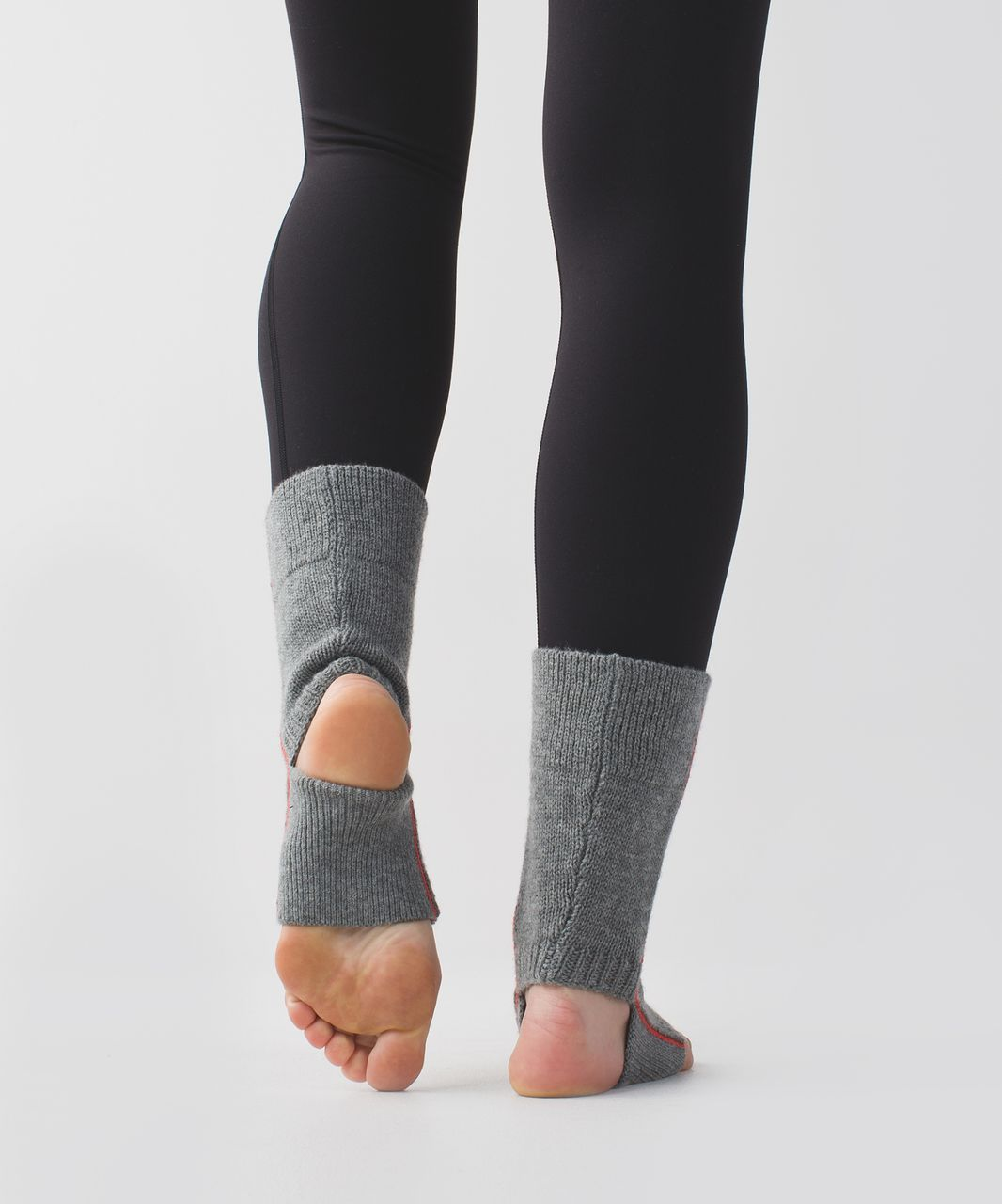 Lululemon Endless Summer Ankle Warmers - Heathered Slate / Alarming