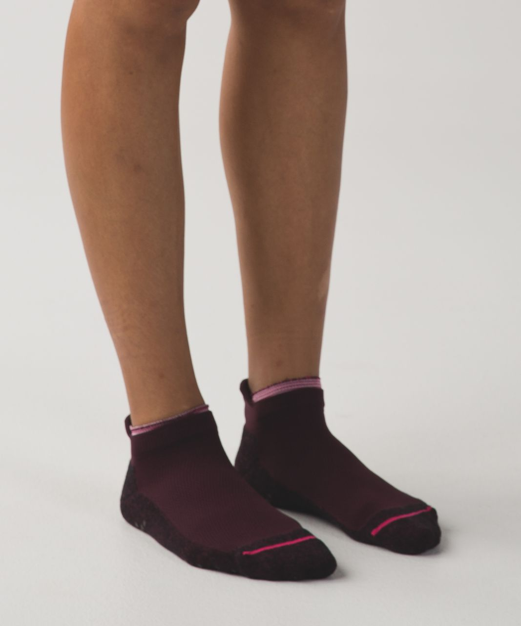 Lululemon See You At The Studio Sock - Bordeaux Drama / Bon Bon / Wine Berry