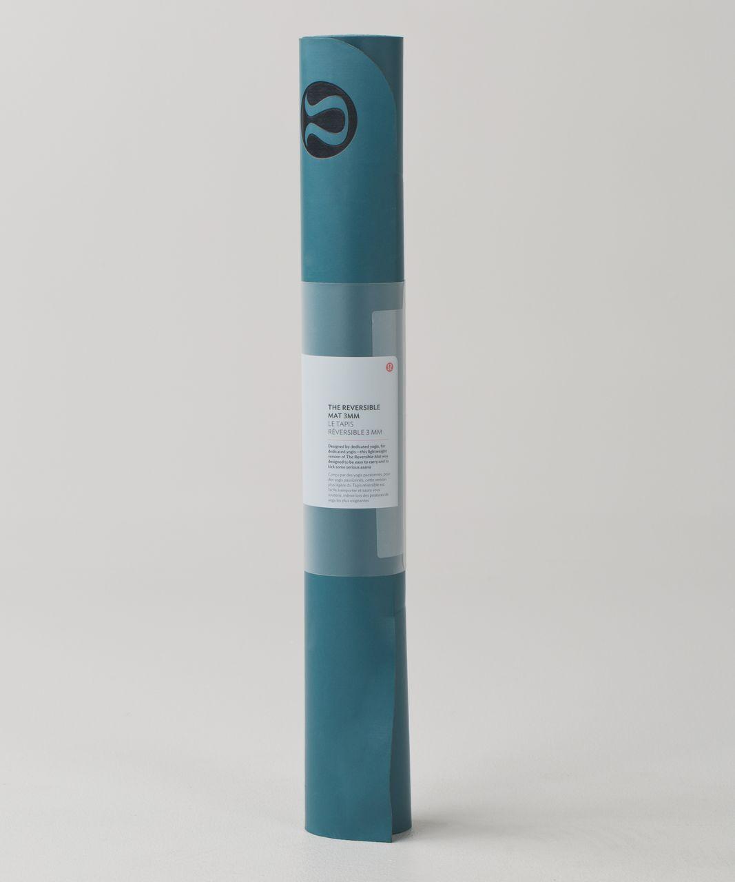 Lululemon The Reversible Mat 3mm - Desert Teal / Alberta Lake