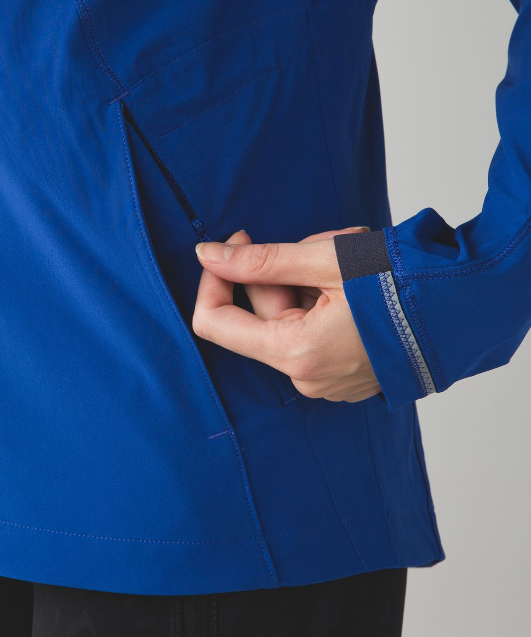Lululemon Go The Distance Jacket - Sapphire Blue