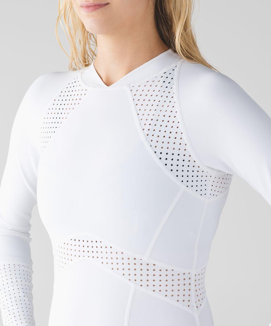 Lululemon Tidal Flow Paddle Suit - White