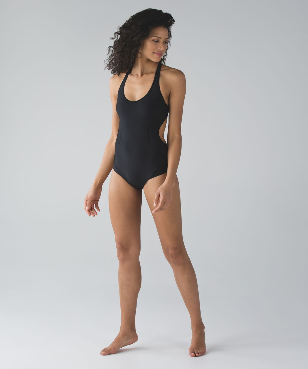 Lululemon Tidal Flow Racerback One Piece - Black