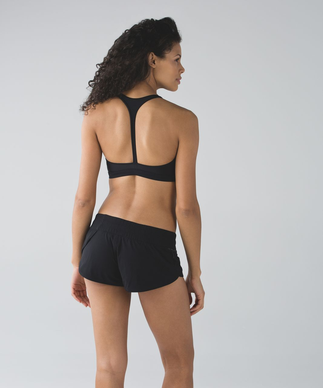 Lululemon Salty Swim Sport Top II - Black