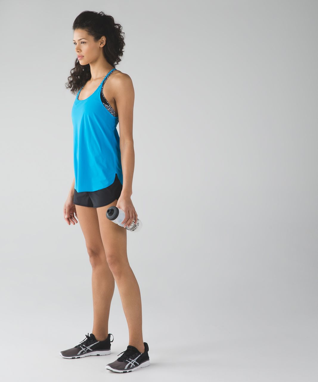 Lululemon Stride To Tide Tank - Kayak Blue